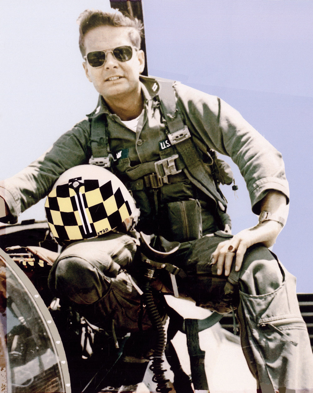 Dr. Guy Clark in Vietnam, 1966-67 (C) Guy Clark, M.D.