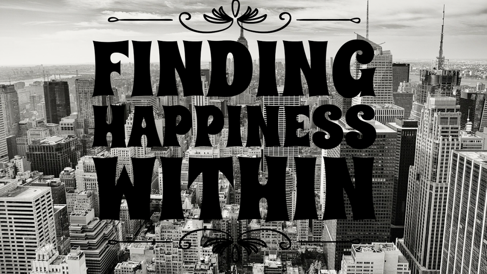 finding happiness within