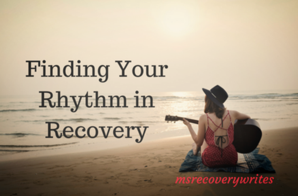 Finding your rhythm in recovery is worth the effort, guitar not included ;)