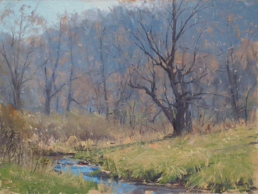 April on Pine Creek