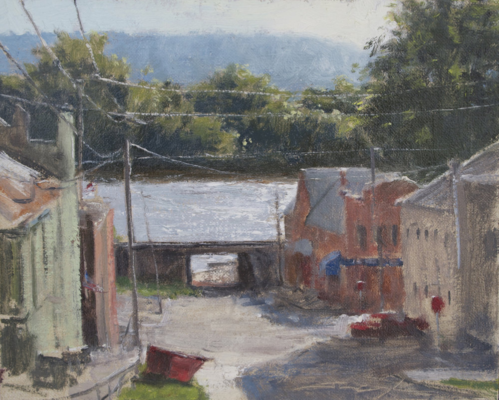 """Looking Down Liberty Street"""
