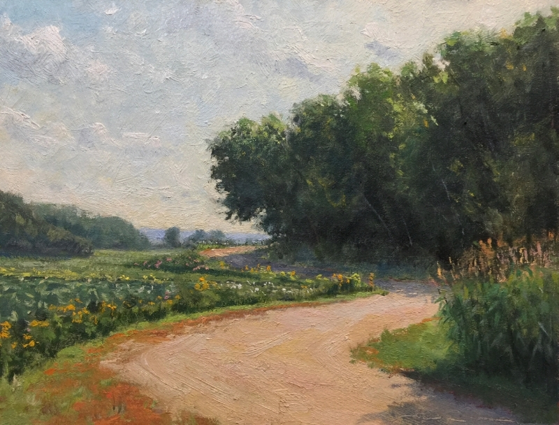 SOLD - Winding Through August