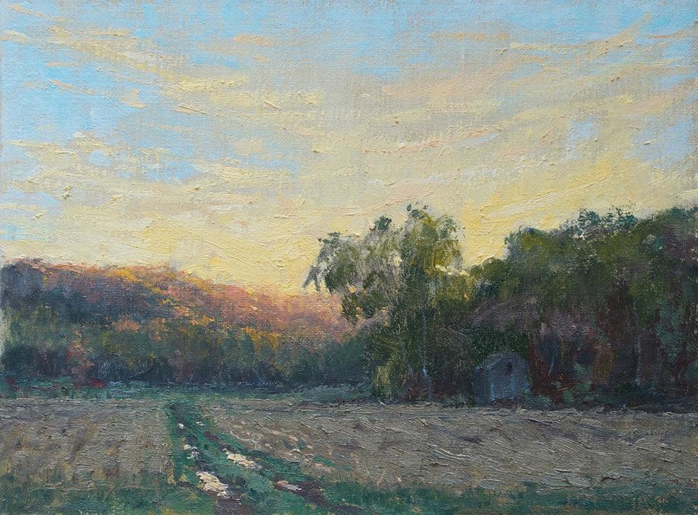 Sundown in the Valley