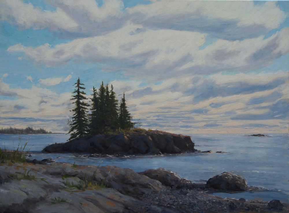 SOLD - September Along the Shore