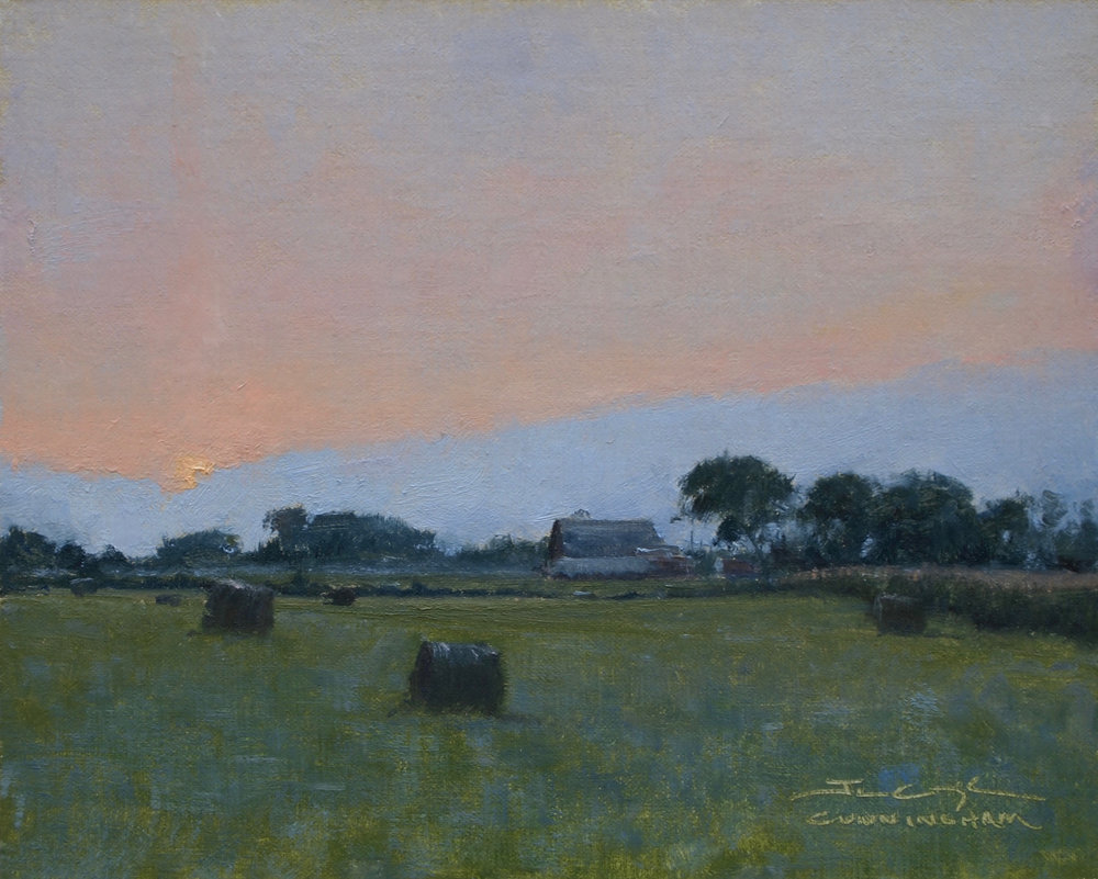 SOLD - Silvery Sunrise