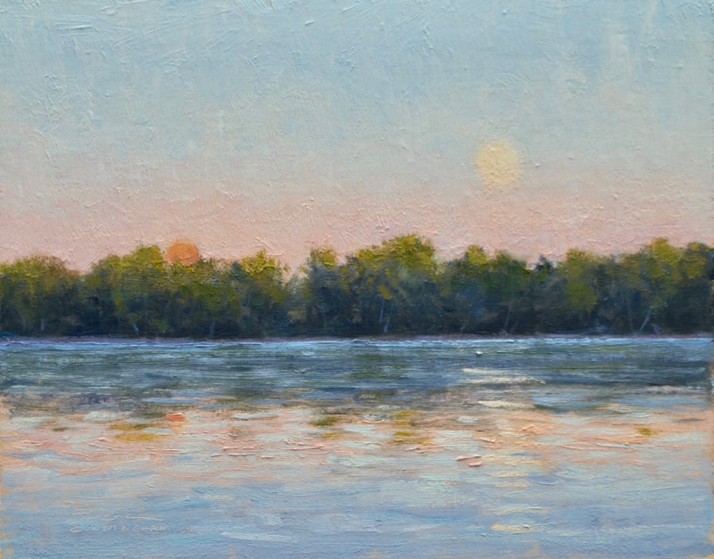 SOLD - Lake Harriet Moonrise
