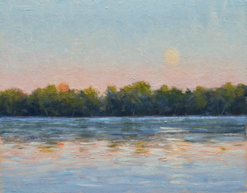 Lake Harriet Moonrise