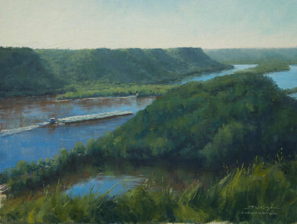SOLD - Pushing Past Trempealeau