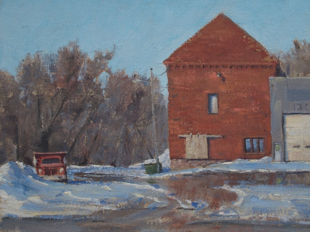 SOLD - Easing Winter, Waseca