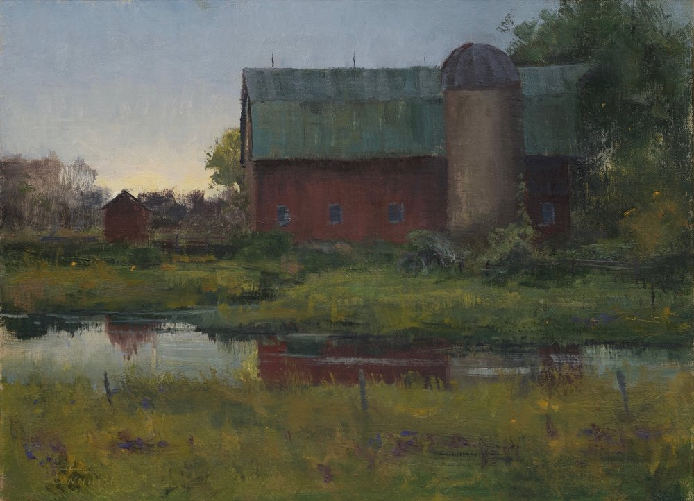SOLD - September Evening