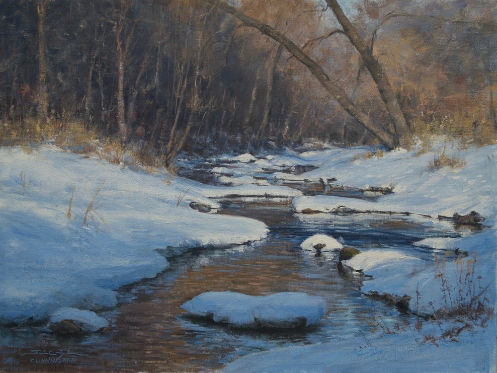 SOLD - Midwinter Morning