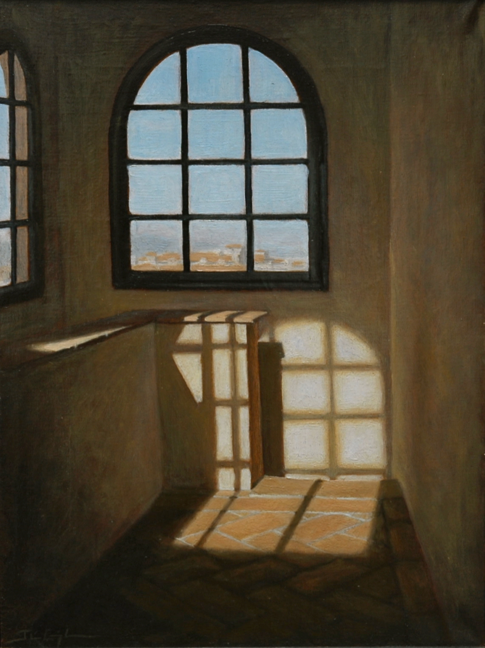 """First Light on the Last Day in Firenze""  16""x12"", Oil on Linen  Collection of the Artist's Wife   Honorable Mention   MN State Fair Juried Fine Arts Show, 2005"