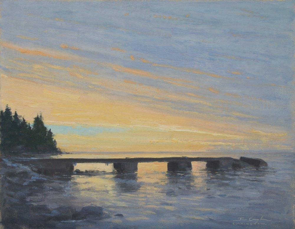 Hovland Sunrise