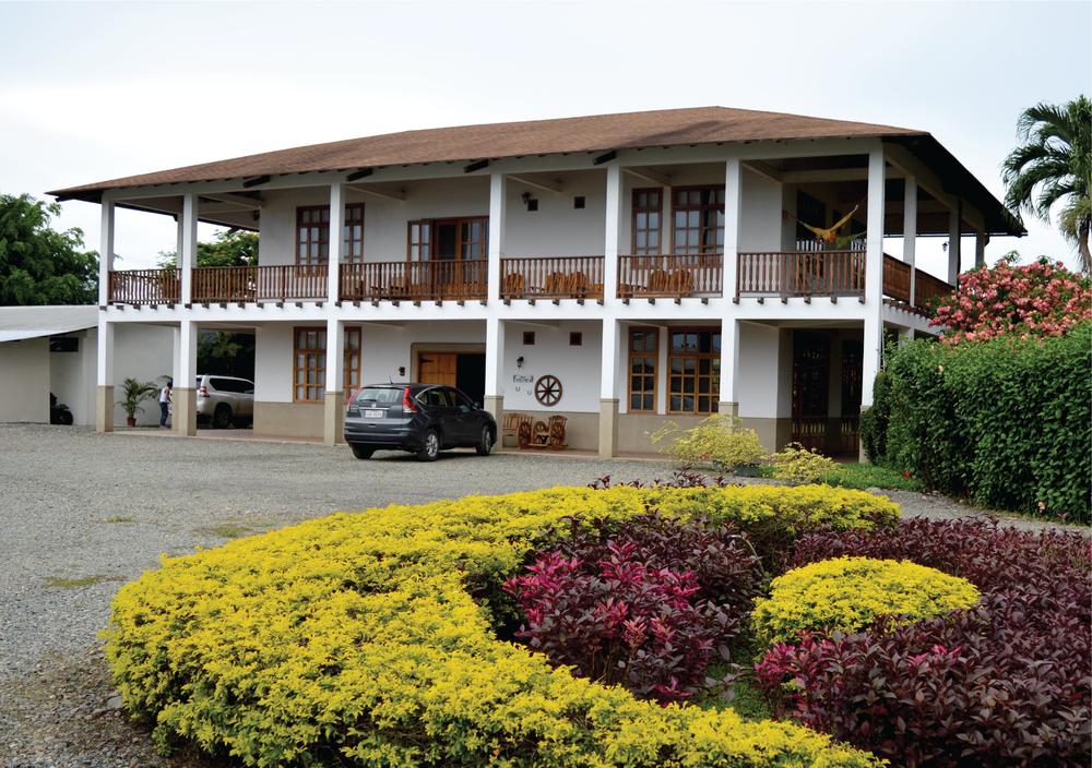 Hacienda San Jose's hacienda on the cacao plantaion