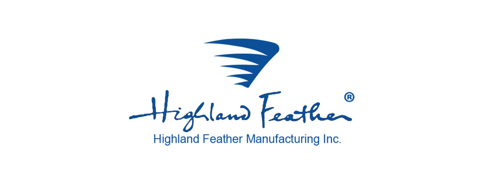 Highland Feather - 171, avenue Nugget,Scarborough (Ontario) M1S 3B1Téléphone: 416-754-7443Télécopieur: 416-754-2116mail@highlandfeather.comwww.highlandfeather.com