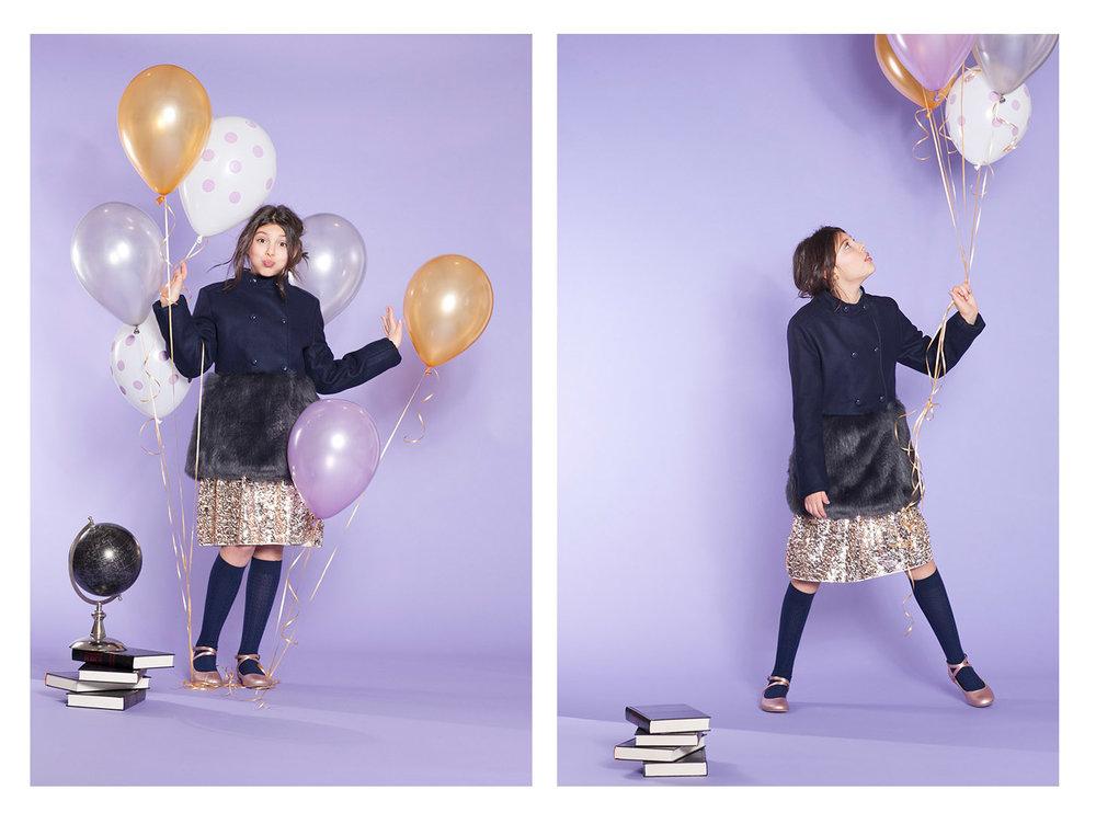 styling brooklyn kids/ tween fashion editorial