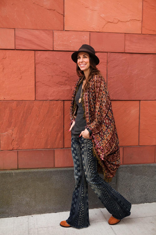 gypsy cape kimono