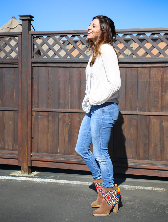 Jasper & Jeera Boots with outfit