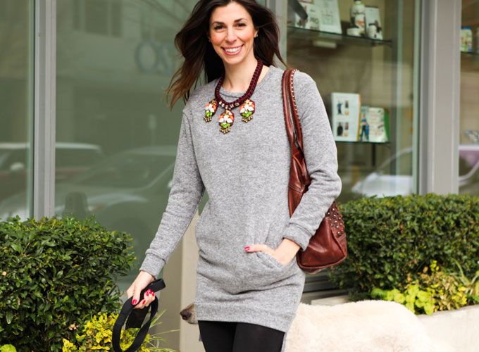 sweatshirt-dress-with-leggings-