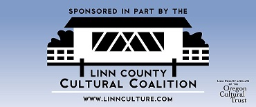 Proudly sponsored by a grant from the Linn County Cultural Coalition