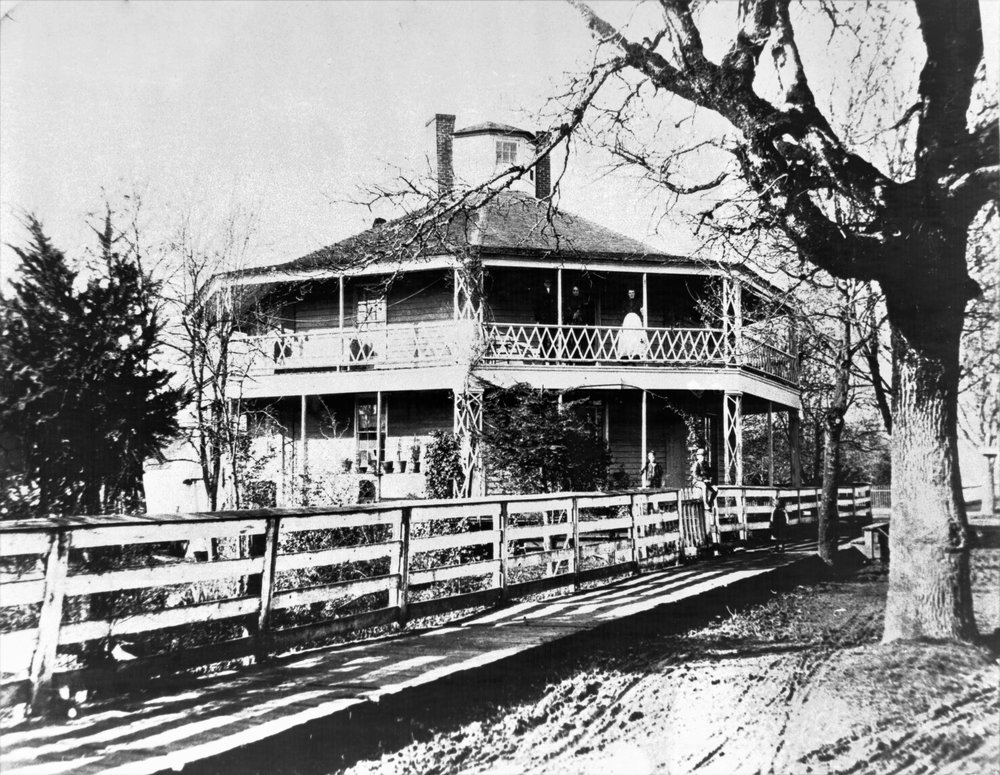 The Octagon House. Albany Regional Museum photo collection: 2007.015.0377