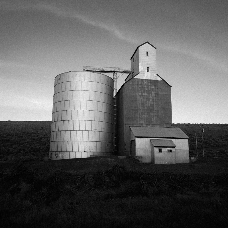 Grain Elevator, Wasco County #4, Apr 2017