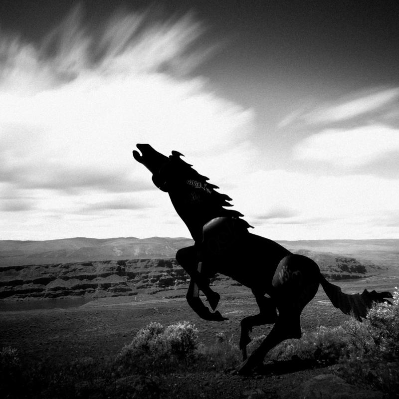 wild horses monument - 2017