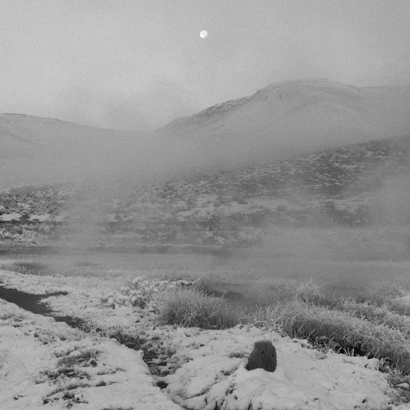 Moonrise at hot springs ~1, Nov 2015