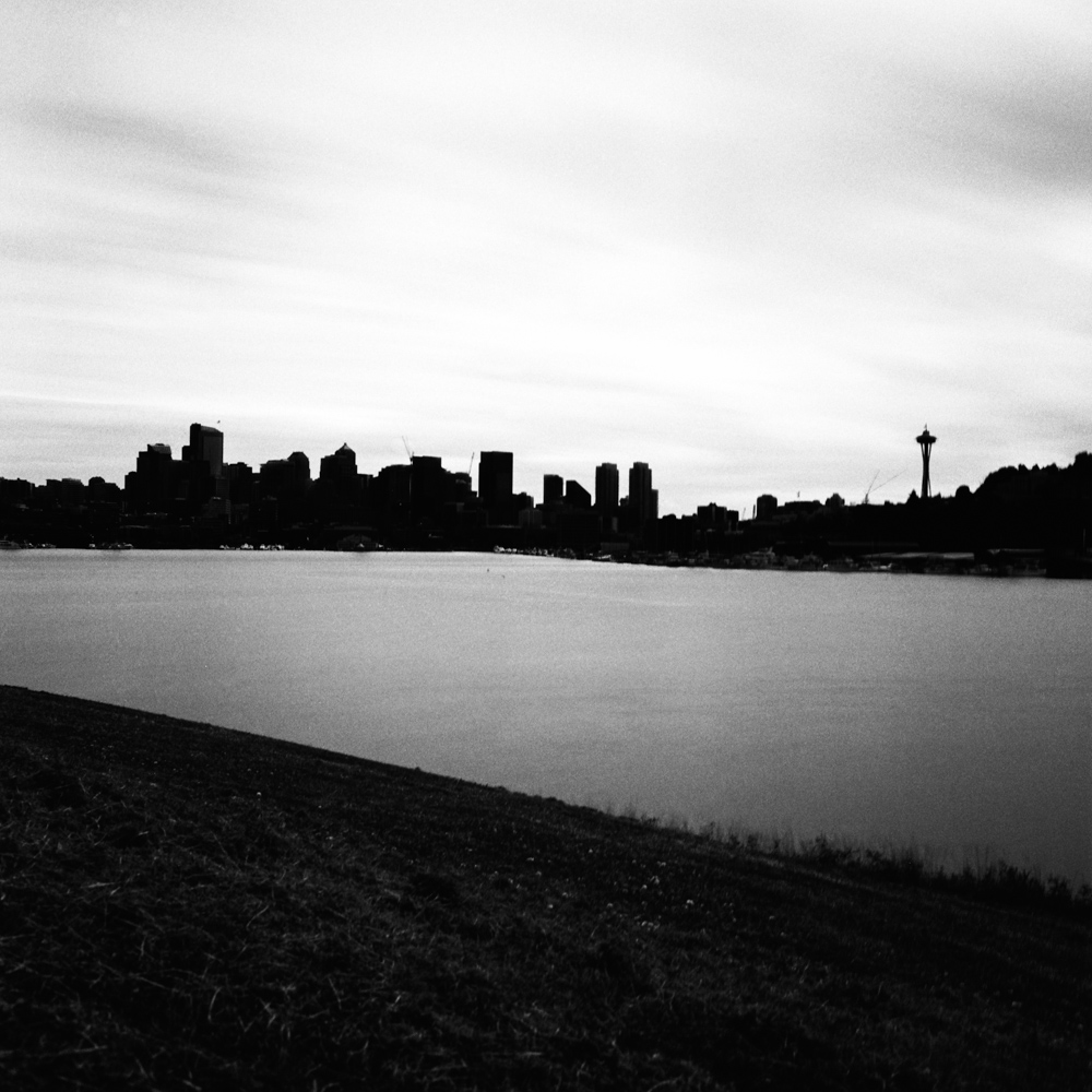 Seattle Skyline, Gas Works Park, Jun 2017
