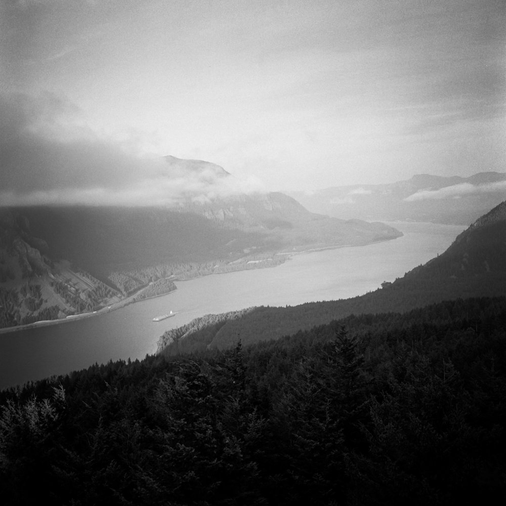 Columbia River from Dog Mountain, August 2017