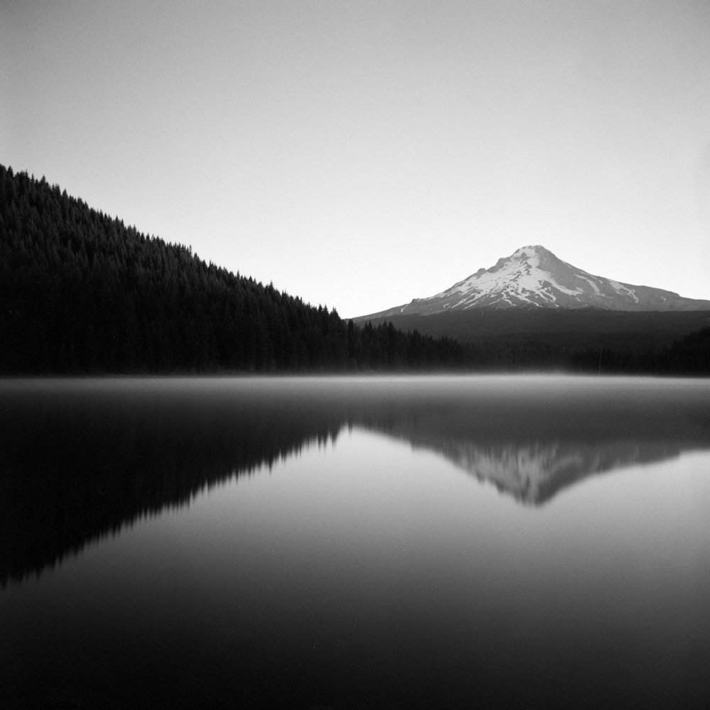 Sunrise, Trillium Lake, July 2017