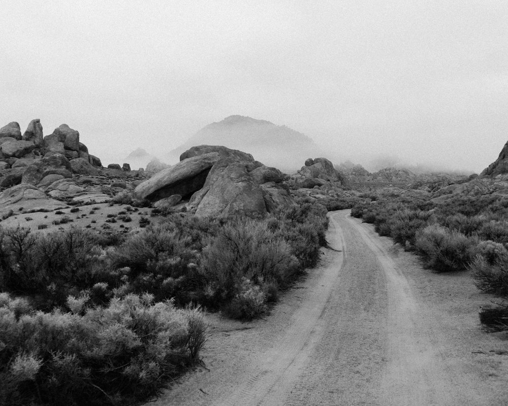 Alabama Hills, New Year's Eve 2016