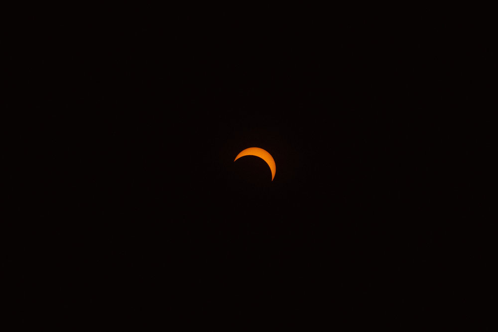 Solar Eclipse, Madras, OR, 2017