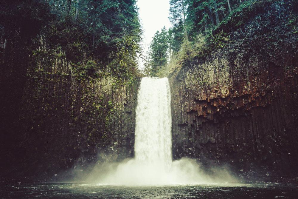 Abiqua Falls, OR, 2016