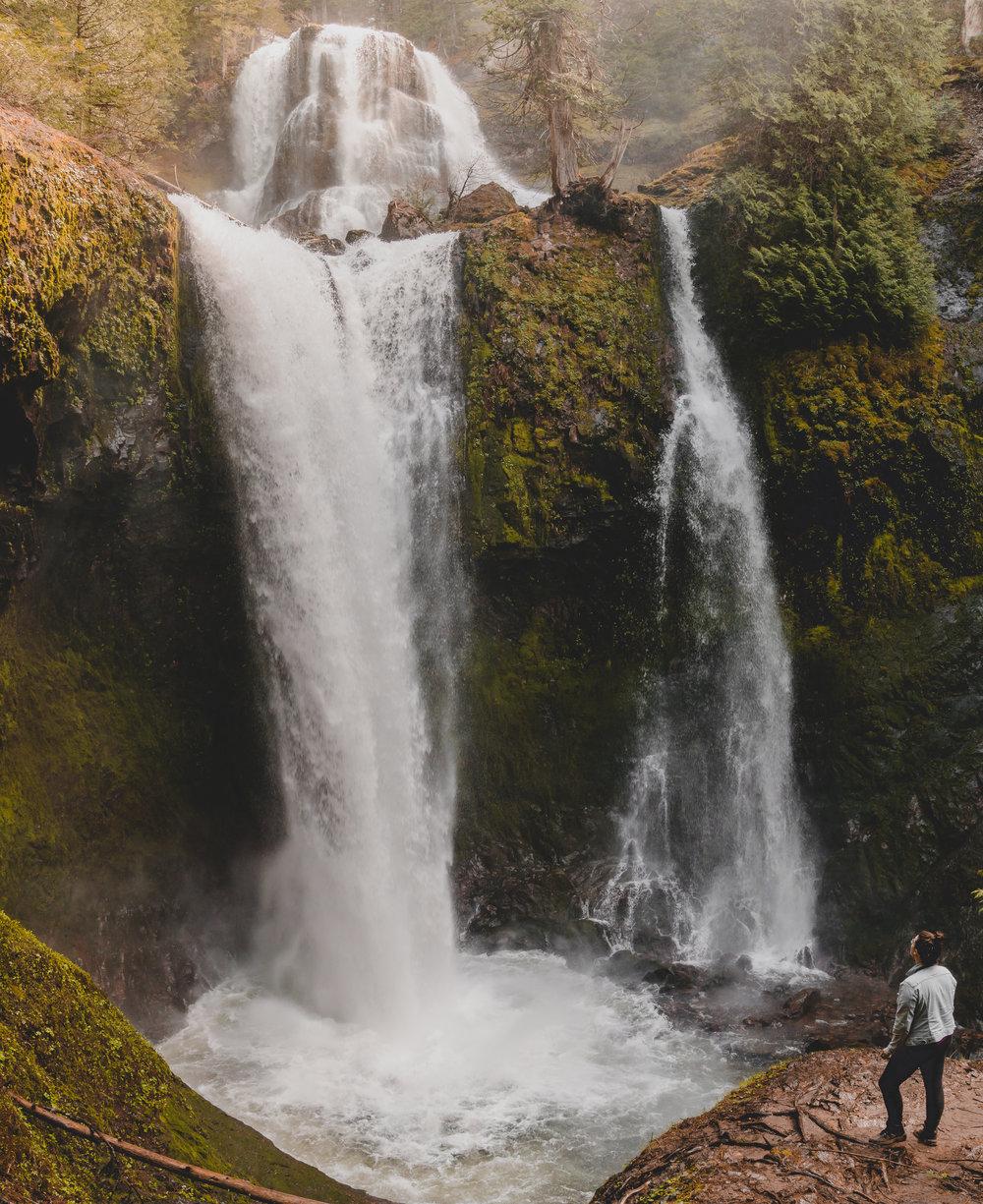 Falls Creek Falls, WA, 2016