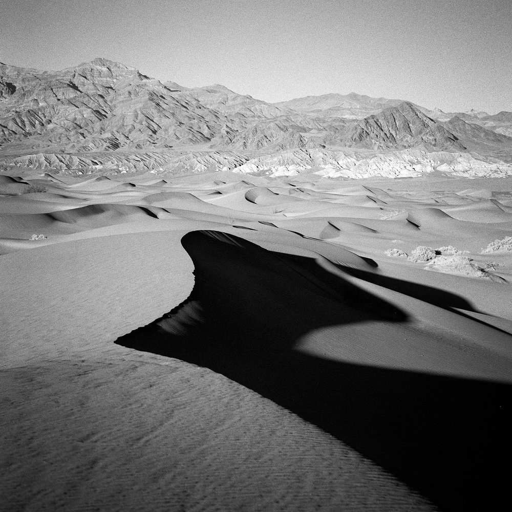 Mesquite Dunes, Death Valley, December 2017