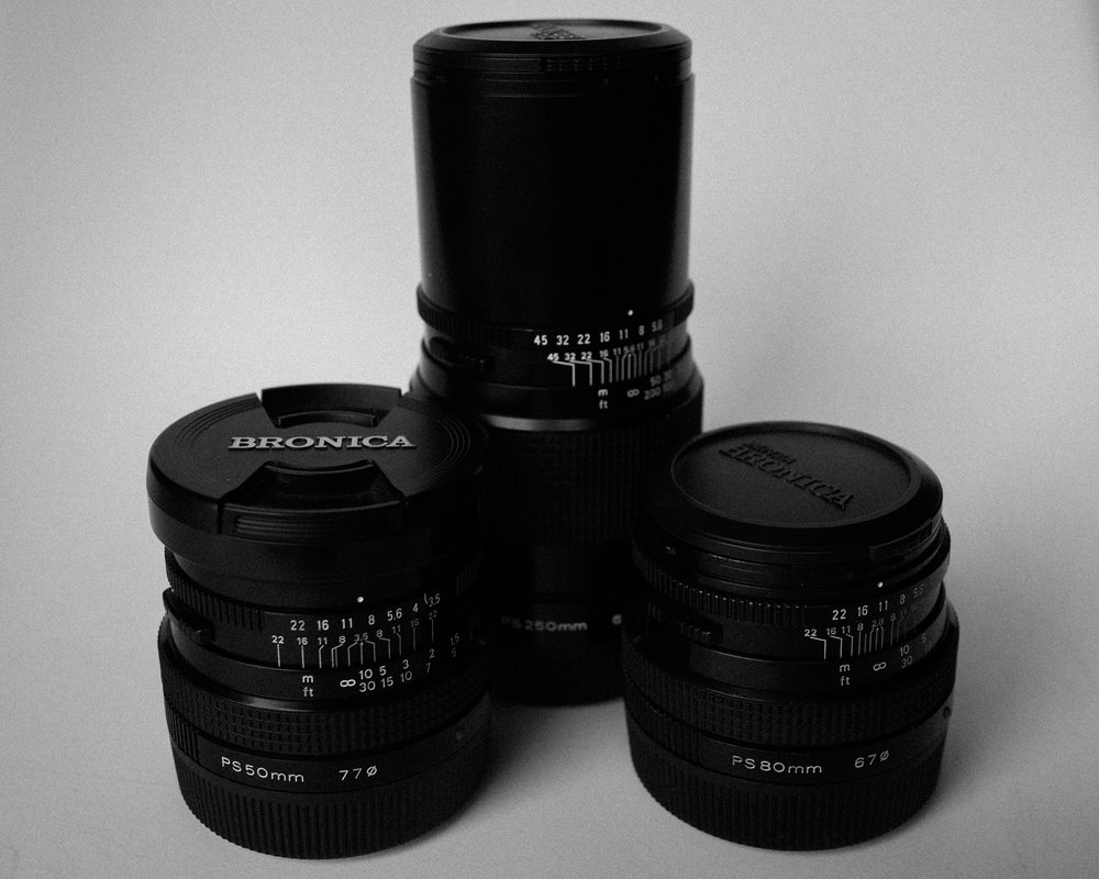 Lenses. You'll need lenses. For sure.