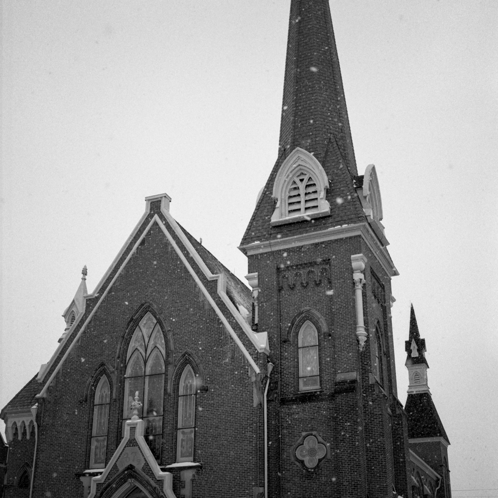 Church, Goshen, January 2018