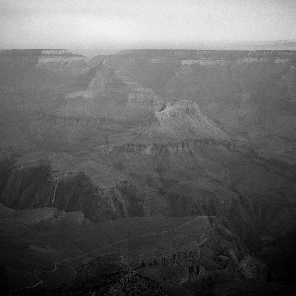 Grand Canyon at dawn, December 2017
