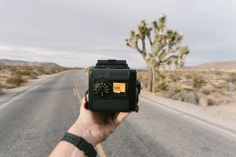 Shooting color (for fun) in Joshua Tree, California