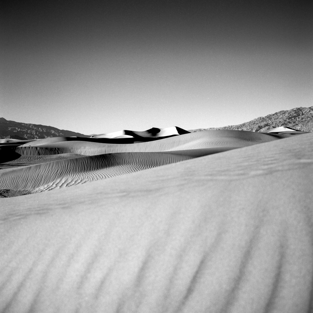 Dunes, Death Valley, December 2017
