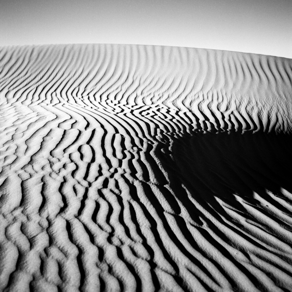 Dune, Death Valley, December 2017