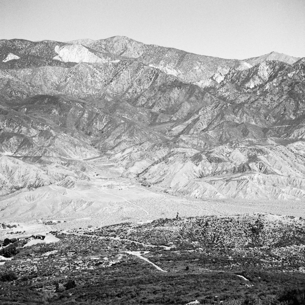 Joshua Tree Mountains from Santa Rosa and San Jacinto Mountains, December 2017