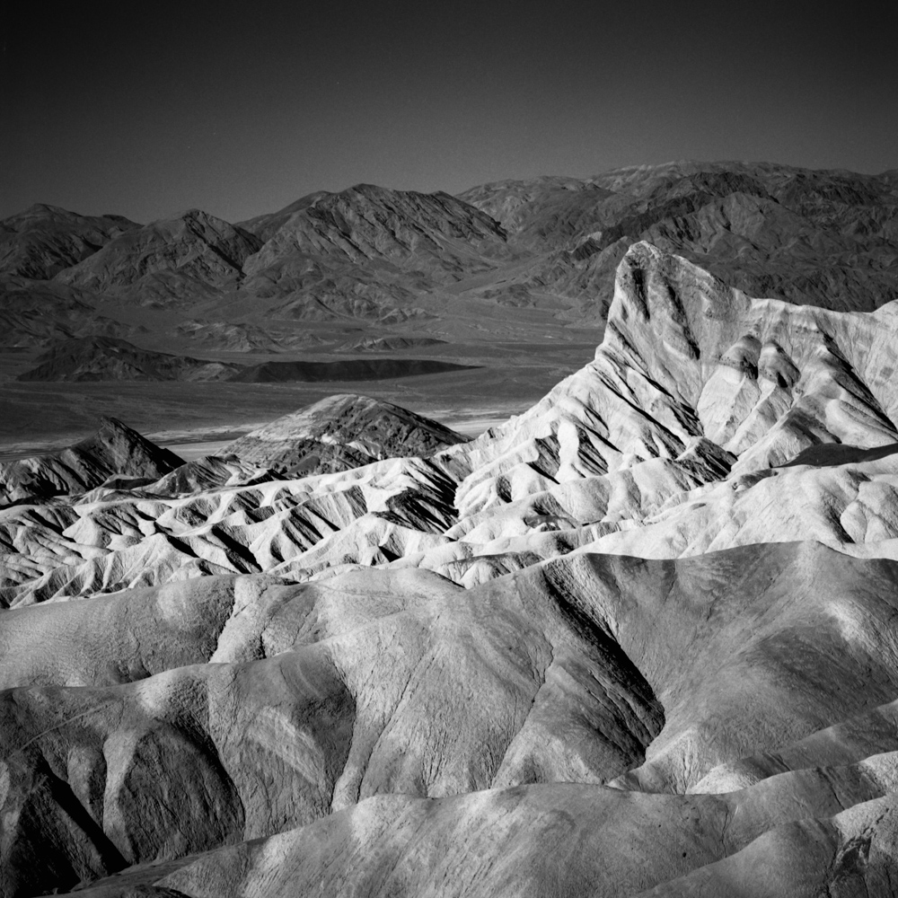 Zabriskie Point, Death Valley, December 2017