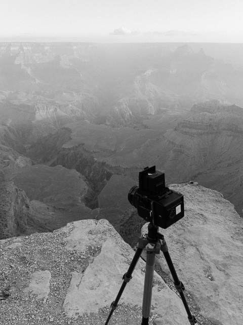 A prime lens can be very useful at well-known locations (here, the Grand Canyon) since they force you to find compositions at a fixed focal length.