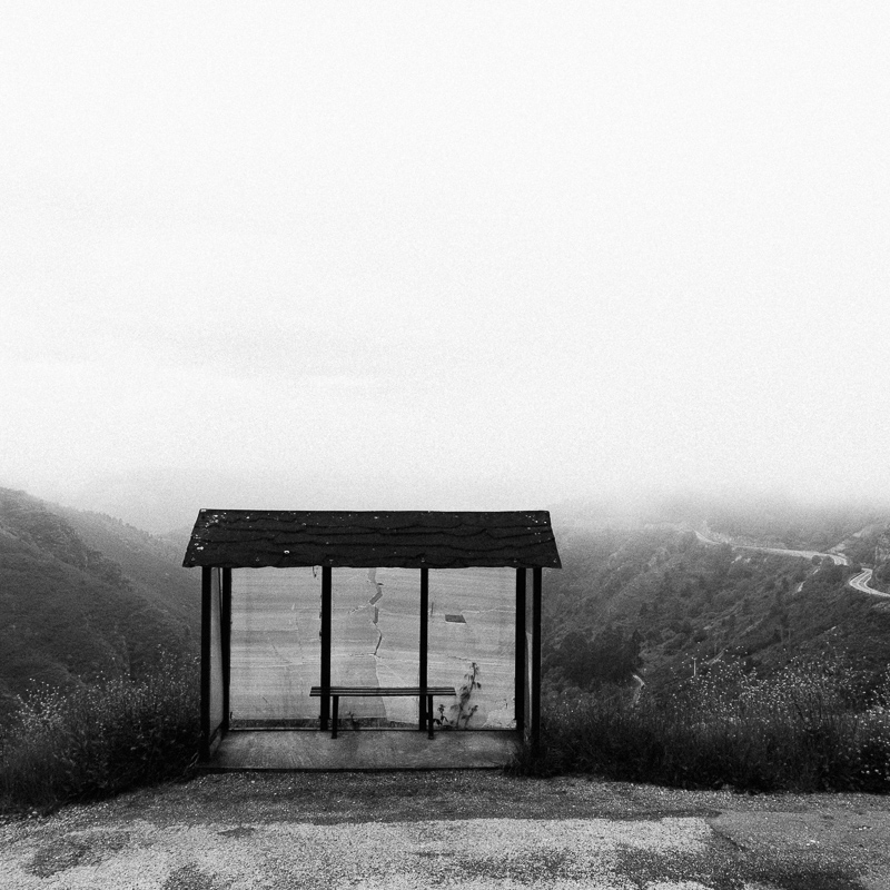 """Bus Stop"", O Courel, May 2018"