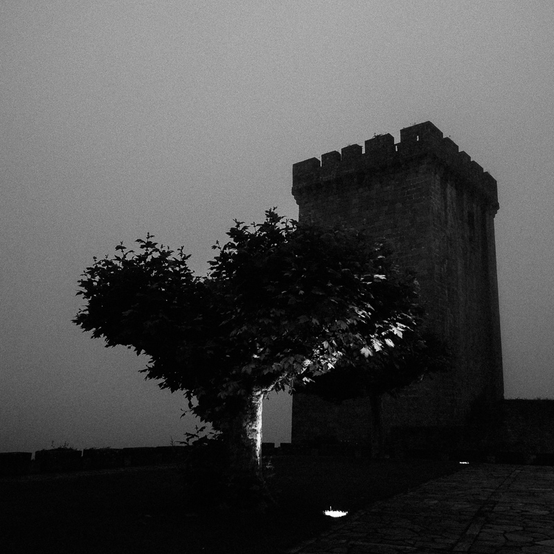 """Tower at night"", Monforte de Lemos, July 2018"