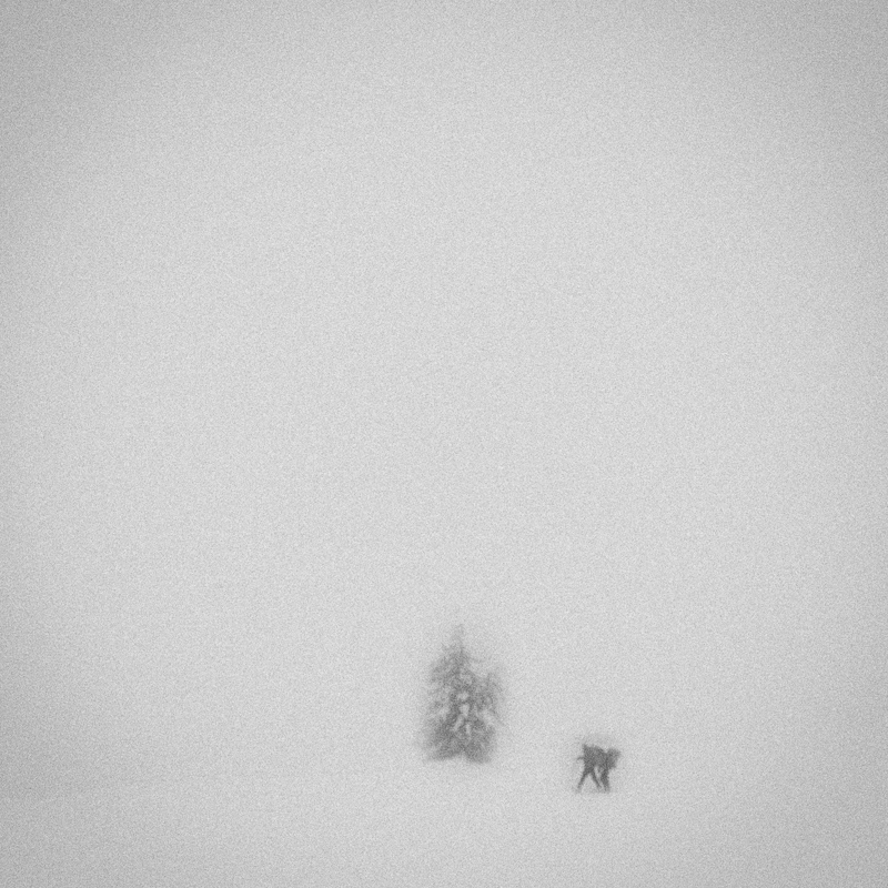 Hikers caught in a snowstorm, Mt Hood, December 2016