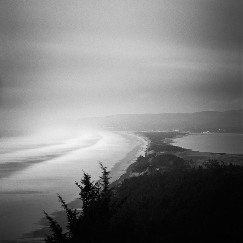 Pacific Ocean, somewhere in Oregon.