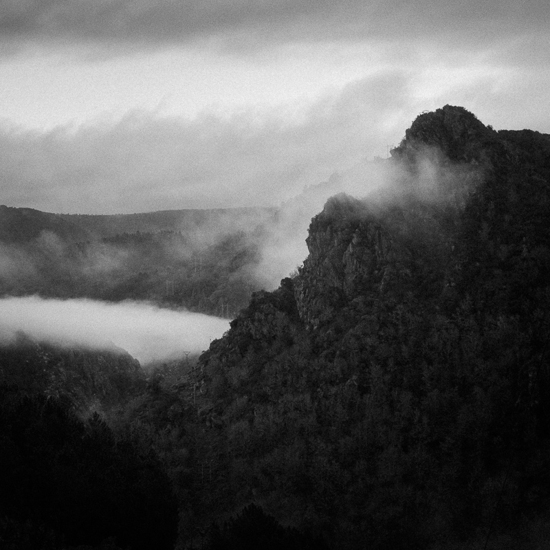 Sunrise, Ribeira Sacra, January 2019